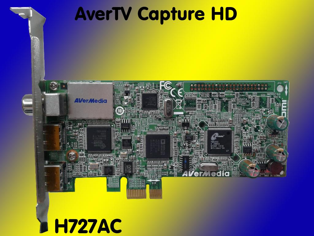 avermedia avertv capture hd h727 ac video recorder hdmi intern analog digital ebay. Black Bedroom Furniture Sets. Home Design Ideas